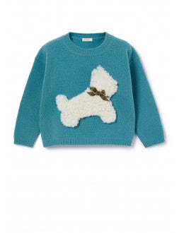 Sweater with anise dog