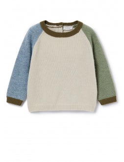 Sand, sky and sage green sweater