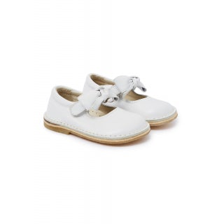 nappa shoes with bow